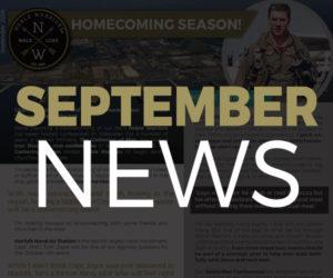 Sept 2018 NEWS
